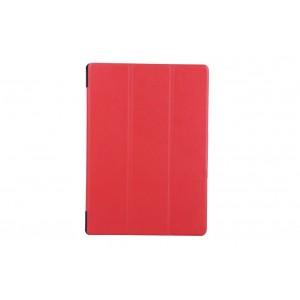 Чехол флип подставка сегментарный для Lenovo Tab 2 A10-70/Tab 3 10 Business Красный