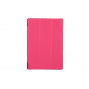 Чехол флип подставка сегментарный для Lenovo Tab 2 A10-70/Tab 3 10 Business Пурпурный