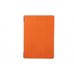 Чехол флип подставка сегментарный для Lenovo Tab 2 A10-70/Tab 3 10 Business Оранжевый