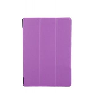 Чехол флип подставка сегментарный для Lenovo Tab 2 A10-70/Tab 3 10 Business Фиолетовый