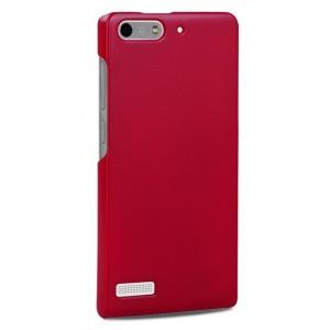 Пластиковый чехол серия Metallic для Huawei Ascend G6 Красный