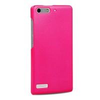 Пластиковый чехол серия Metallic для Huawei Ascend G6 Пурпурный