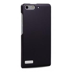 Пластиковый чехол серия Metallic для Huawei Ascend G6 Черный