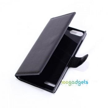 Чехол портмоне подставка с защелкой для Huawei Ascend G6