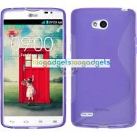 Силиконовый S чехол для LG L80 Фиолетовый