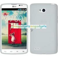 Силиконовый S чехол для LG L80 Белый