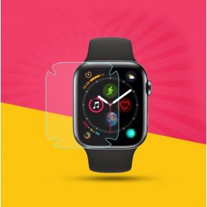 Защитная пленка на плоскую и изогнутые поверхности экрана для Apple Watch Series 4 40 mm