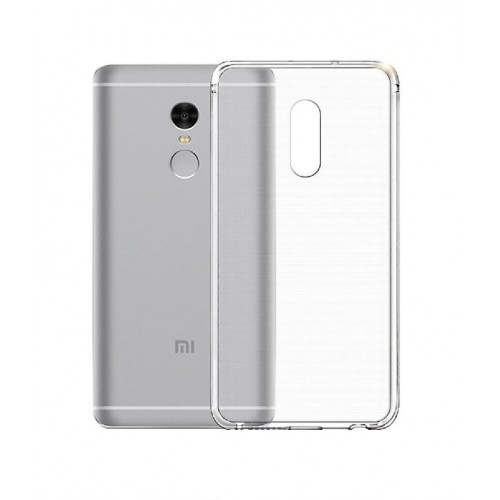 Пластиковый транспарентный чехол для Xiaomi RedMi Note 4X