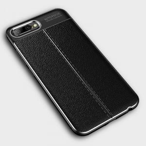 Чехол накладка текстурная отделка Кожа для смартфонов Huawei Honor 10
