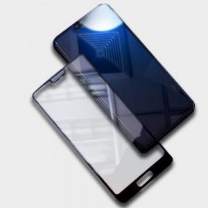 Полноэкранное ультратонкое износоустойчивое сколостойкое олеофобное защитное стекло-пленка для Huawei Honor 10