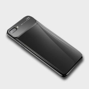 Пластиковый глянцевый непрозрачный чехол для Huawei Honor 10