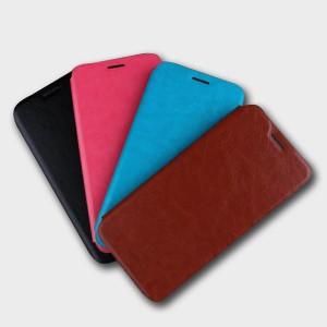 Чехол горизонтальная книжка подставка на силиконовой основе для Huawei Honor 10