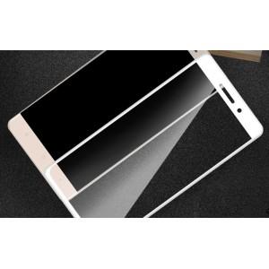 Полноэкранное ультратонкое износоустойчивое сколостойкое олеофобное защитное стекло-пленка для Xiaomi RedMi 4 Pro Белый