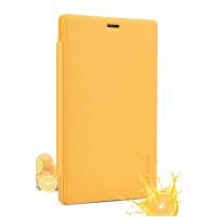 Чехол флип на пластиковой основе серия Colors для Nokia X2 Оранжевый