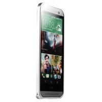 Металлический бампер для HTC One (M8) Белый