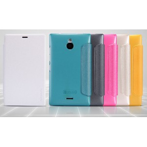 Чехол флип на пластиковой основе серия Colors для Nokia X2