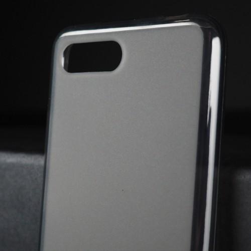 Силиконовый матовый полупрозрачный чехол для Huawei Honor 10