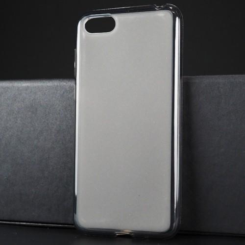 Силиконовый матовый полупрозрачный чехол для Huawei Honor 7A/Y5 Prime (2018)
