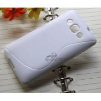Силиконовый S чехол для LG L60 Белый
