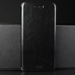 Винтажный чехол горизонтальная книжка подставка на силиконовой основе для Huawei Honor 9 Черный