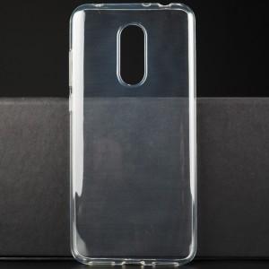 Силиконовый глянцевый транспарентный чехол для Xiaomi RedMi 5 Plus