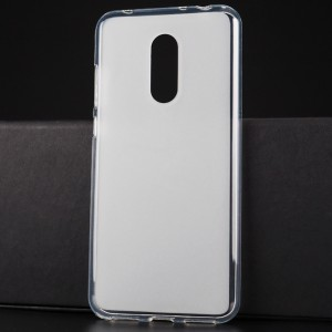 Силиконовый матовый полупрозрачный чехол для Xiaomi RedMi 5 Plus
