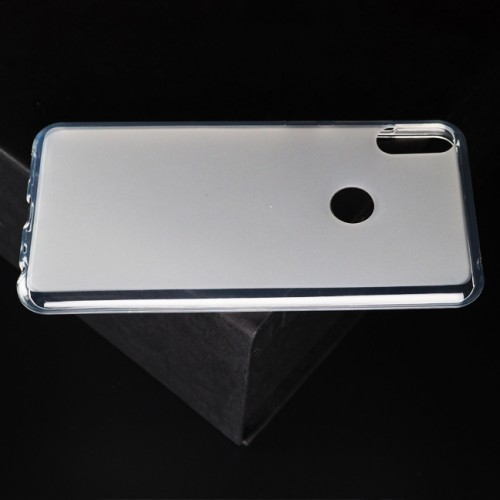 Силиконовый матовый полупрозрачный чехол для ASUS ZenFone Max Pro M1