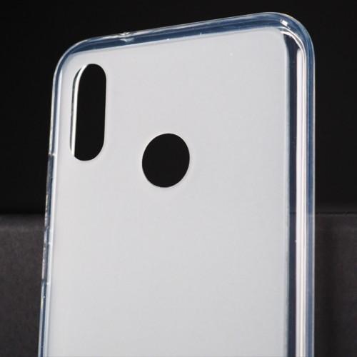 Силиконовый матовый полупрозрачный чехол для Huawei P20 Lite