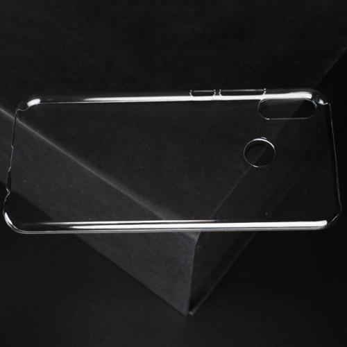 Пластиковый транспарентный чехол для Huawei P20 Lite