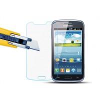 Ультратонкое износоустойчивое сколостойкое олеофобное защитное стекло-пленка для Samsung Galaxy Core