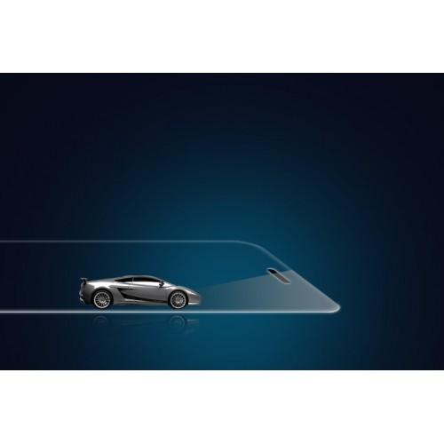 Ультратонкое износоустойчивое сколостойкое олеофобное защитное стекло-пленка для HTC One Mini