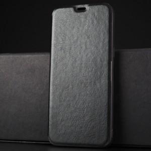 Чехол горизонтальная книжка подставка на силиконовой основе для Samsung Galaxy S8 Черный