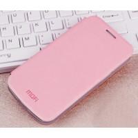 Чехол флип подставка водоотталкивающий для Samsung Galaxy Ace 4 Розовый