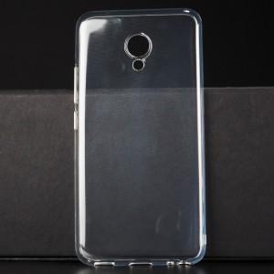 Силиконовый транспарентный чехол для Meizu M5