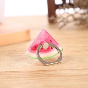 Фигурное клеевое кольцо-подставка дизайн Фрукты