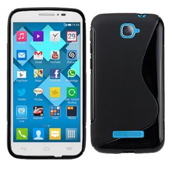 Силиконовый S чехол для Alcatel One Touch Pop C7