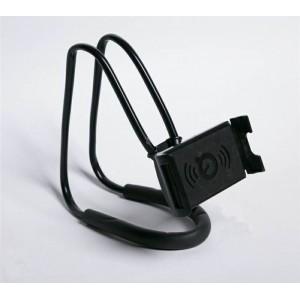 Многофункциональный гибкий держатель на шею для гаджетов до 7 дюймов Черный