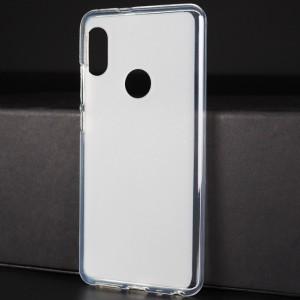 Силиконовый матовый полупрозрачный чехол с отверстием для лого для Iphone X 10/XS Белый