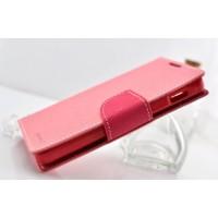 Чехол портмоне с защелкой на силиконовой основе для Samsung Galaxy Core Розовый