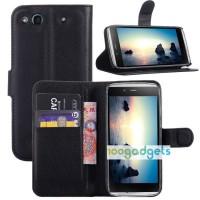 Чехол портмоне подставка с защелкой для Alcatel One Touch Idol Alpha