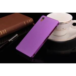 Металлический чехол для Sony Xperia Z3 (Dual) Фиолетовый