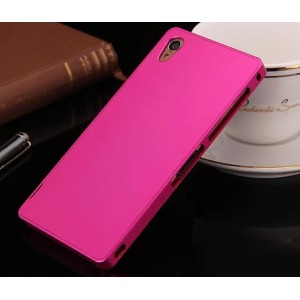 Металлический чехол для Sony Xperia Z3 (Dual) Пурпурный