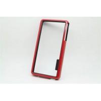 Силиконовый бампер для Sony Xperia Z3 One SIM (D6603, D6616) Красный