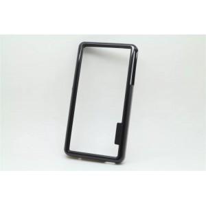 Силиконовый бампер для Sony Xperia Z3 One SIM (D6603, D6616) Черный