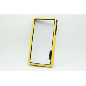 Силиконовый бампер для Sony Xperia Z3 One SIM (D6603, D6616) Желтый