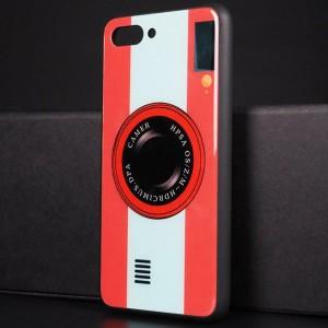 Силиконовый матовый непрозрачный чехол с стеклянной накладкой для Huawei Honor 10