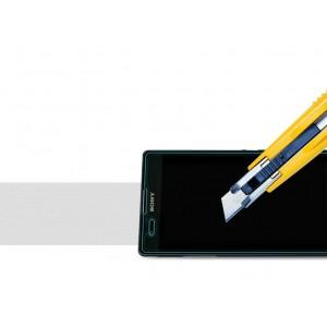 Ультратонкое износоустойчивое сколостойкое олеофобное защитное стекло-пленка для Sony Xperia T2 Ultra