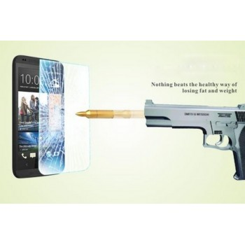 Ультратонкое износоустойчивое сколостойкое олеофобное защитное стекло-пленка для HTC Desire 300