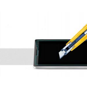 Ультратонкое износоустойчивое сколостойкое олеофобное защитное стекло-пленка для Nokia Lumia 830