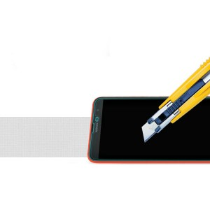 Ультратонкое износоустойчивое сколостойкое олеофобное защитное стекло-пленка для Nokia Lumia 1320